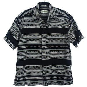 Orvis button-down woven camp shirt size L